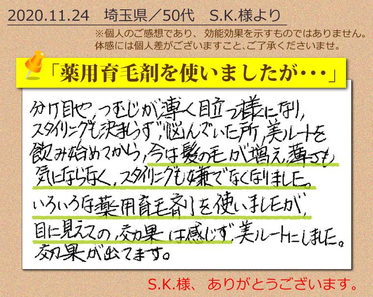 美ルート-口コミ-201124