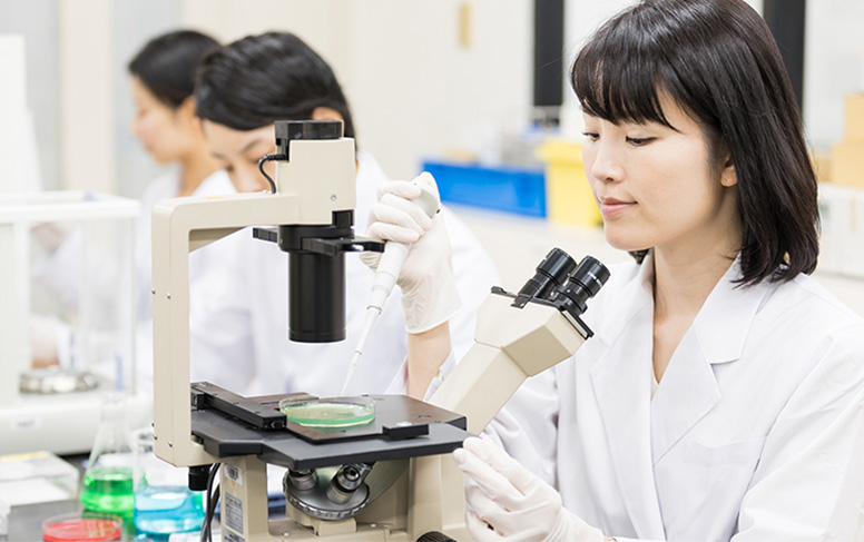 ヒト臨床試験をもとに開発